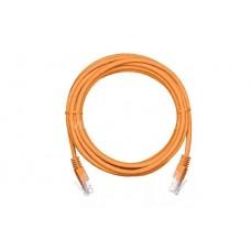 Коммутационный шнур NETLAN UTP 4 пары, Кат.5е, 2хRJ45/8P8C, T568B, PVC, оранжевый, 2м (EC-PC4UD55B-BC-PVC-020-OR)