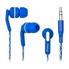 Наушники Dialog ES-F15 (blue) проводные с микрофоном