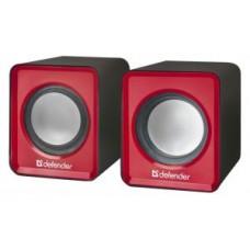 Акустическая система 2.0 Defender SPK-22, 2x2.5W, USB, красный