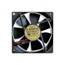 Вентилятор  80x80x25 Gembird, 2pin, втулка, провод 30 см (FANPS)