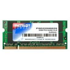 Модуль памяти DDR2 SODIMM 2048Мb Patriot