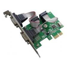 Контроллер PCI-Ex1 LPT (1-внешн.) + COM (2-внутр.), Orient XWT-PE2S, OEM
