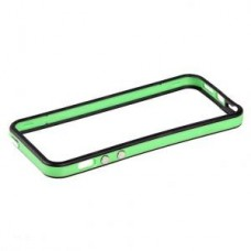 Чехол-бампер Activ FIESTA для Apple iPhone 5 (green/black)