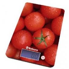 Весы кухонные Sakura SA-6075 T Томаты