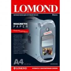 Бумага Lomond 2020346 A4/660г/м2/2л./белый матовое/магнитный слой для струйной печати