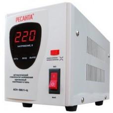 Стабилизатор напряжения Ресанта АСН-500/1-Ц, 500W, EURO, серый